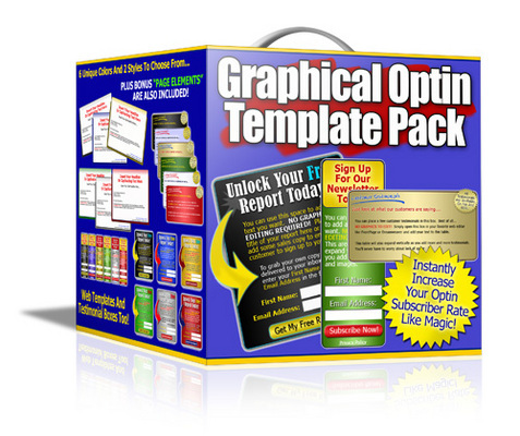 Product picture Grahpic Optin Templates