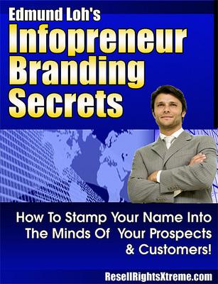Product picture Branding secretes,Infopreneur-z